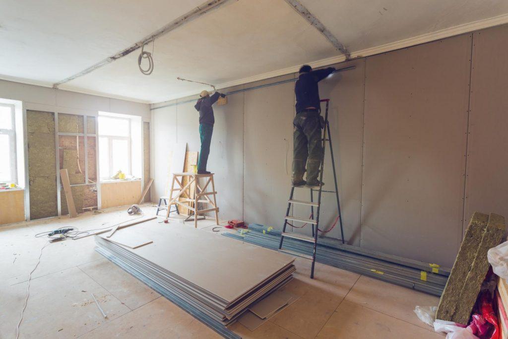 Rénovation mur et sol pour moderniser son intérieure
