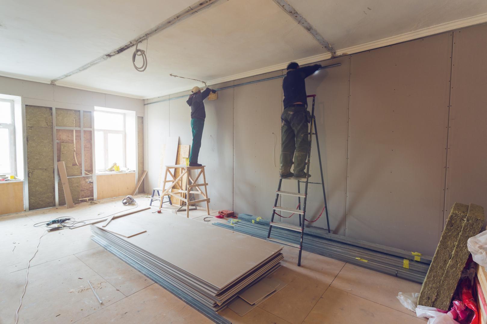 Rénovation mur et sol